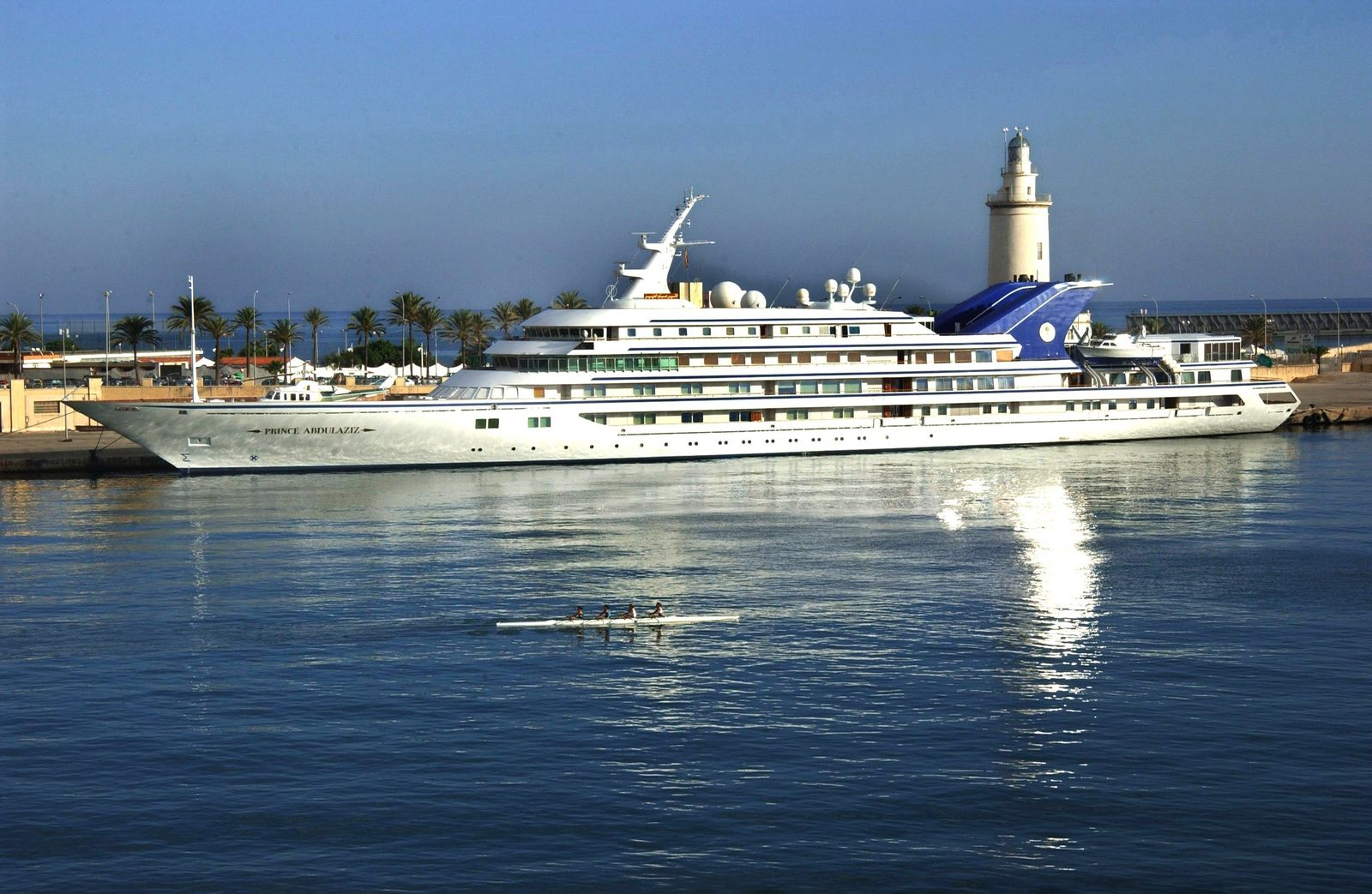 Yacht von König Fahd von Saudi-Arabien
