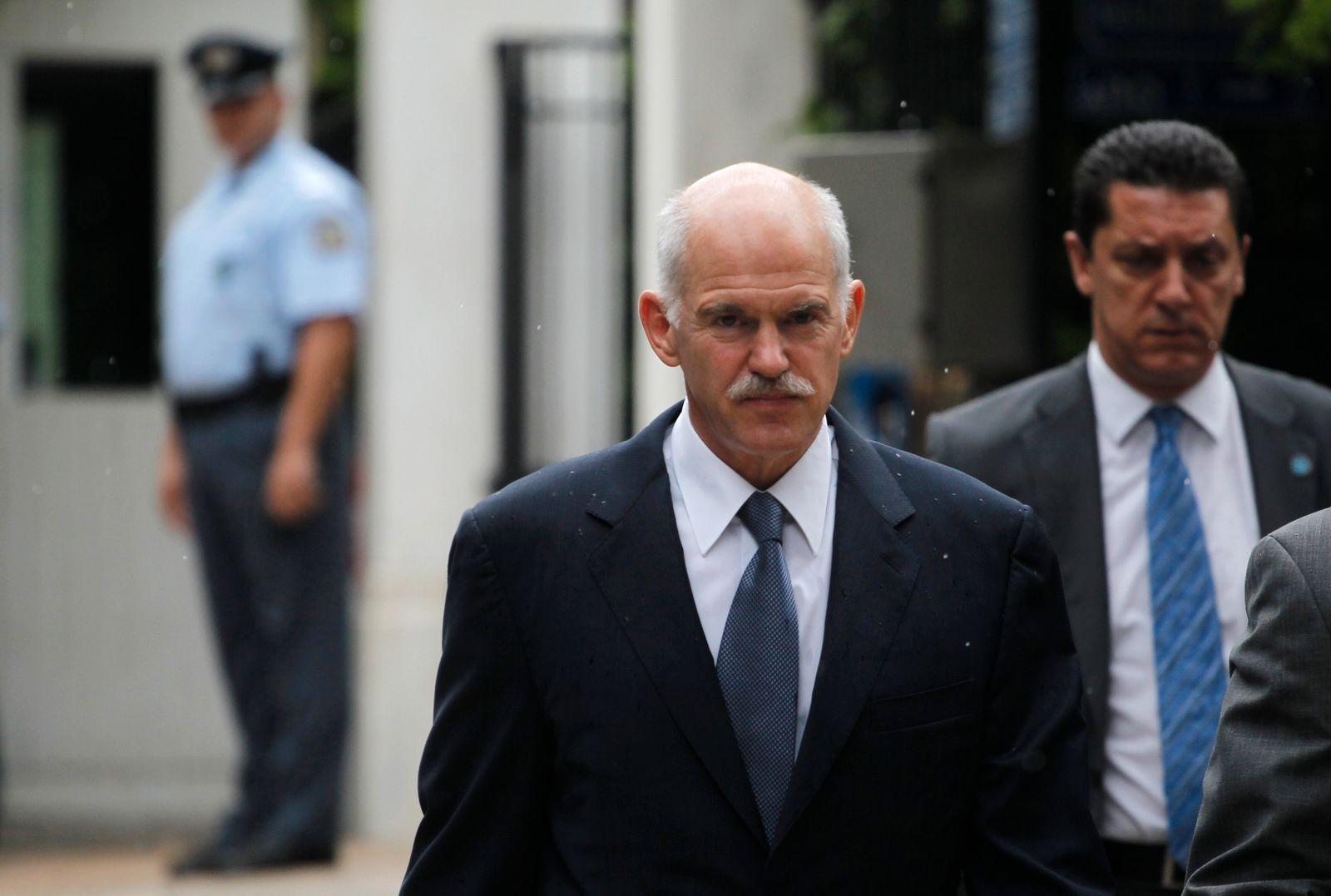 Griechenland/ Generalstreik/ Papandreou