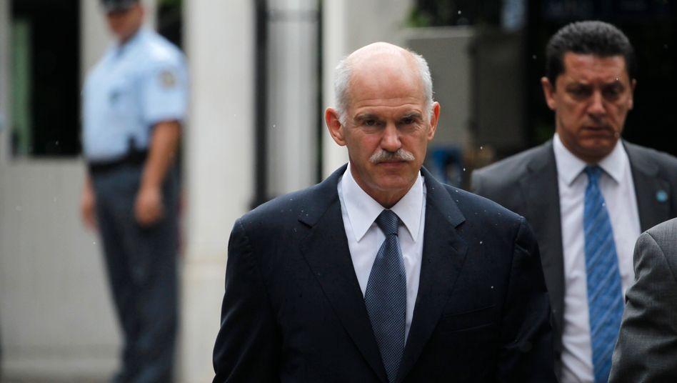 Griechenlands Premierminister George Papandreou: Machtteilung mit der Opposition vorgeschlagen