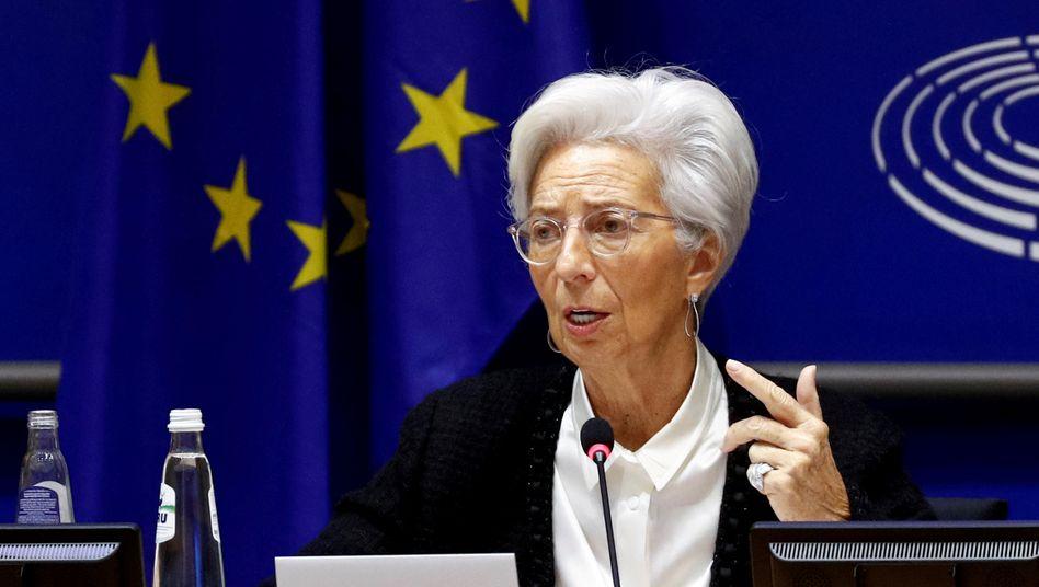 EZB-Präsidentin Christine Lagarde: Die Europäische Zentralbank dürfte auf eine zusätzliche Lockerung ihrer bereits extrem expansiven Geldpolitik zusteuern