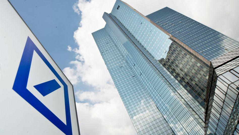 Deutsche Bank: 575 Millionen Euro Gewinn nach Steuer im ersten Quartal