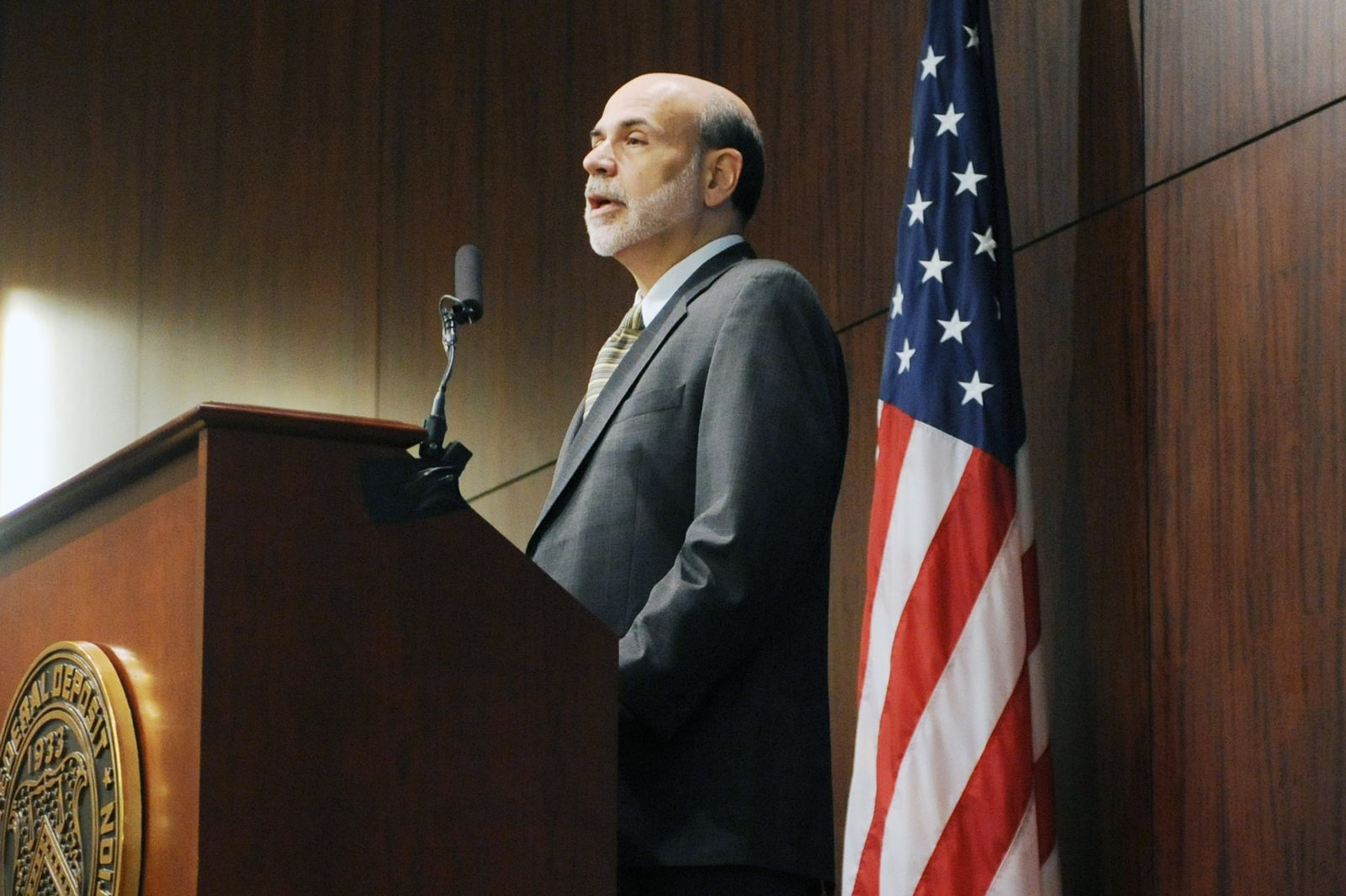 US Notenbankchef Ben Bernanke/US-Notenbank