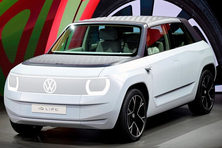 Elektro für alle: Erster Blick auf das Modell ID.Live, das Volkswagen auf der IAA vorstellt