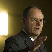 Will Auslandskonten durchleuchten: Bundesfinanzminister Steinbrück