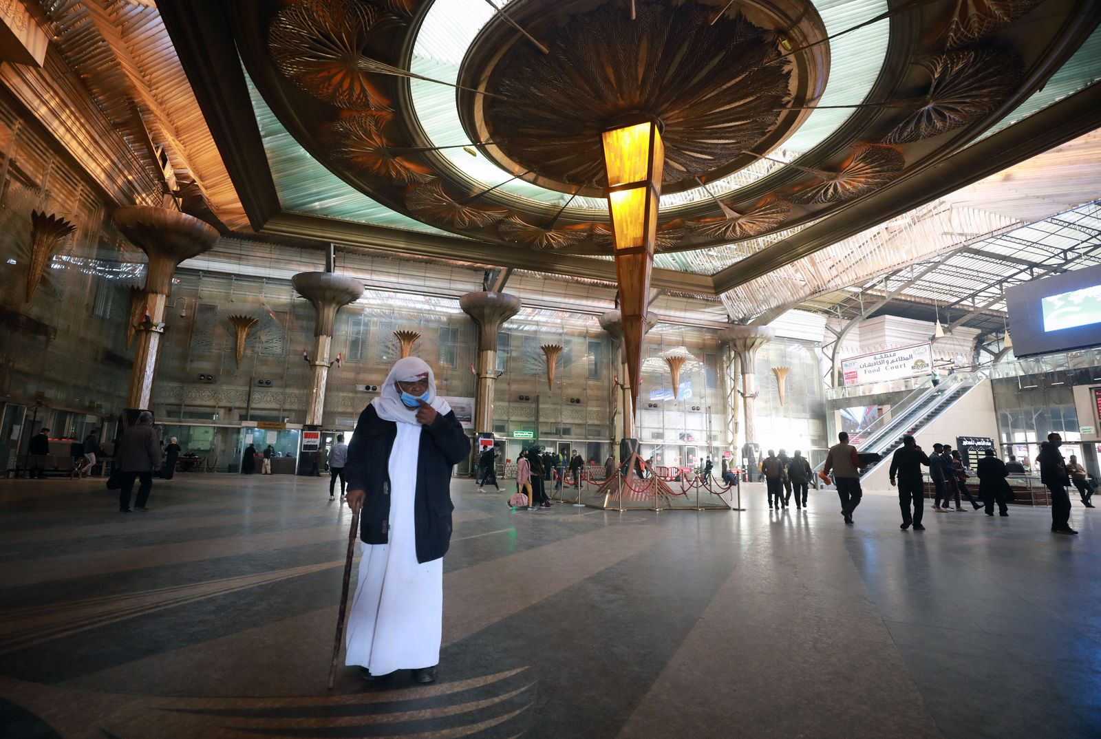 The Egyptian government imposes a fine to ensure the wearing of face masks in public places, Cairo, Egypt - 05 Jan 2021