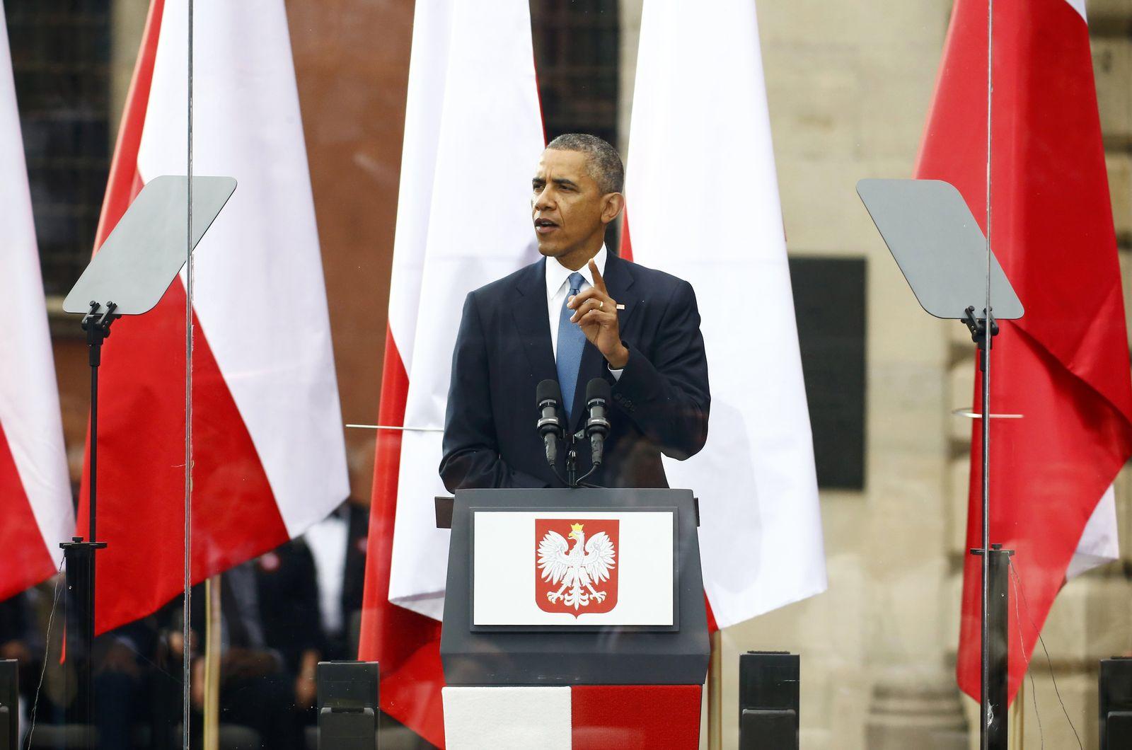 Obama in Polen
