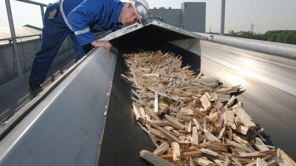 Biomasse-Kraftwerk von Steag: Der Industriekonzern Evonik hat 51 Prozent der Steag an sechs Ruhrgebietsstädte verkauft. Die Kommunen können auch den Rest über eine Call-Option erwerben - und diese weiterreichen