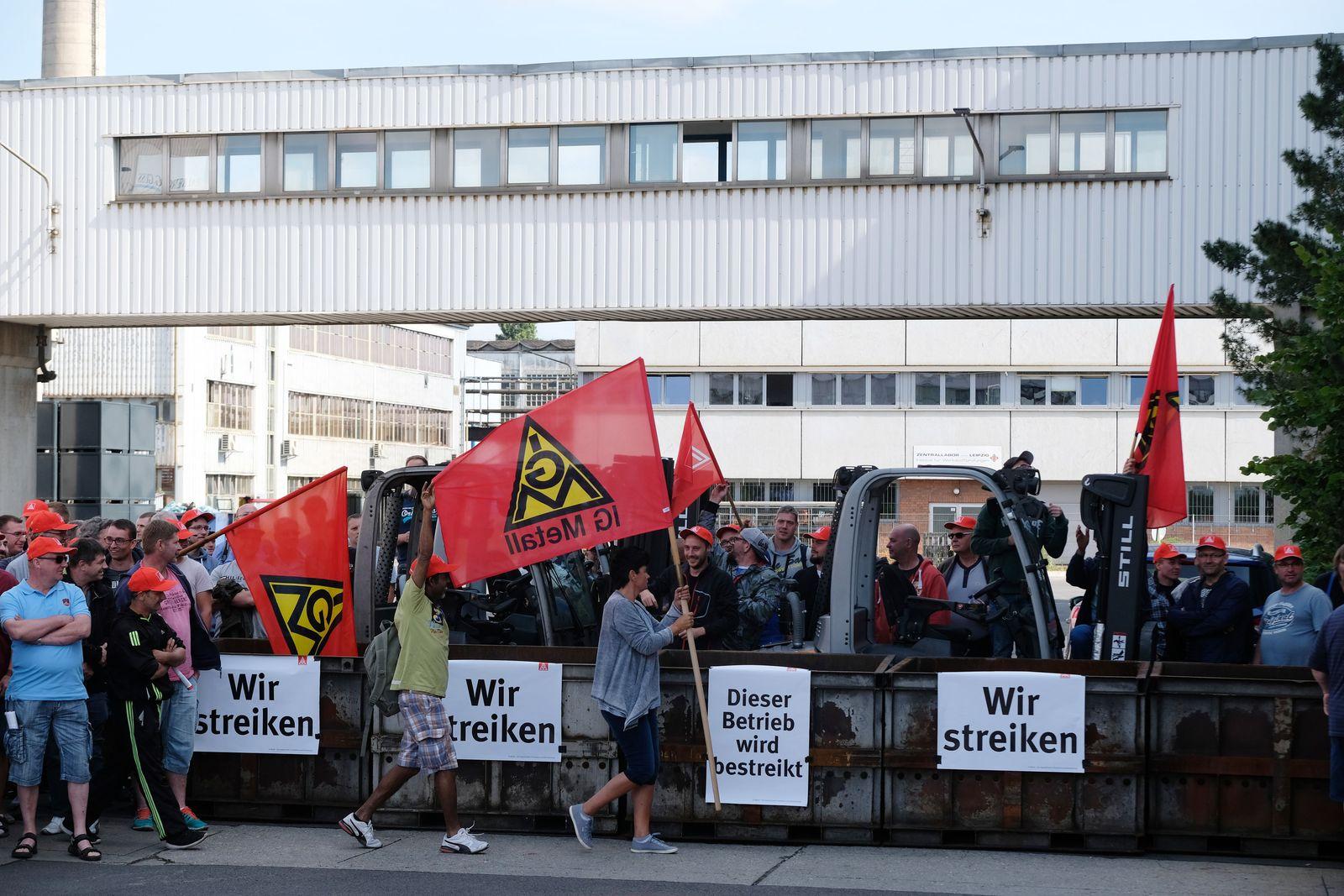 Streik bei Neue Halberg-Guss