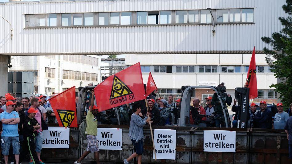 """Streik bei Halberg Guss in Leipzig: Deutz-Chef appelliert an Prevent und die NHG Mitarbeiter - """"Setzen Sie diesem Wahnsinn ein Ende!"""""""