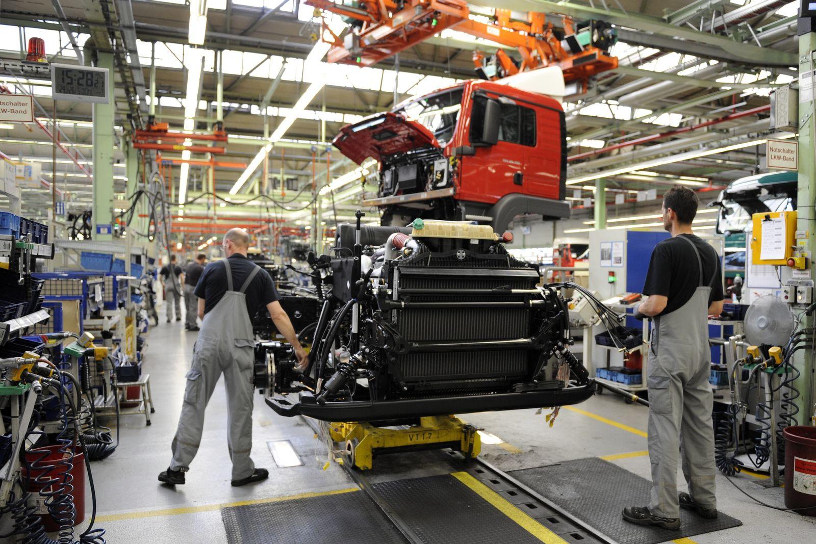 NICHT VERWENDEN Fabrik LKW Produktion (MAN Salzgitter)
