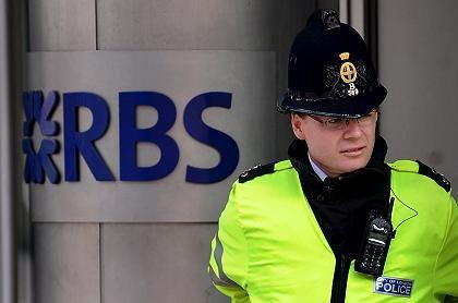 Unter Kuratel: 70 Prozent der Royal Bank of Scotland sind inzwischen in der Hand des Staats