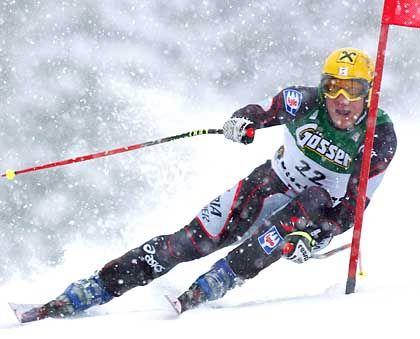 Traditionsrennen: Ski-Ass Hermann Maier bei der Hanhnenkamm-Abfahrt