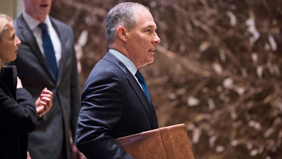 Freund der Klimasünder: Scott Pruitt soll die Umweltschutzbehörde EPA leiten