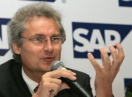 Bleibt bis mindestens 2009: SAP-Chef Kagermann