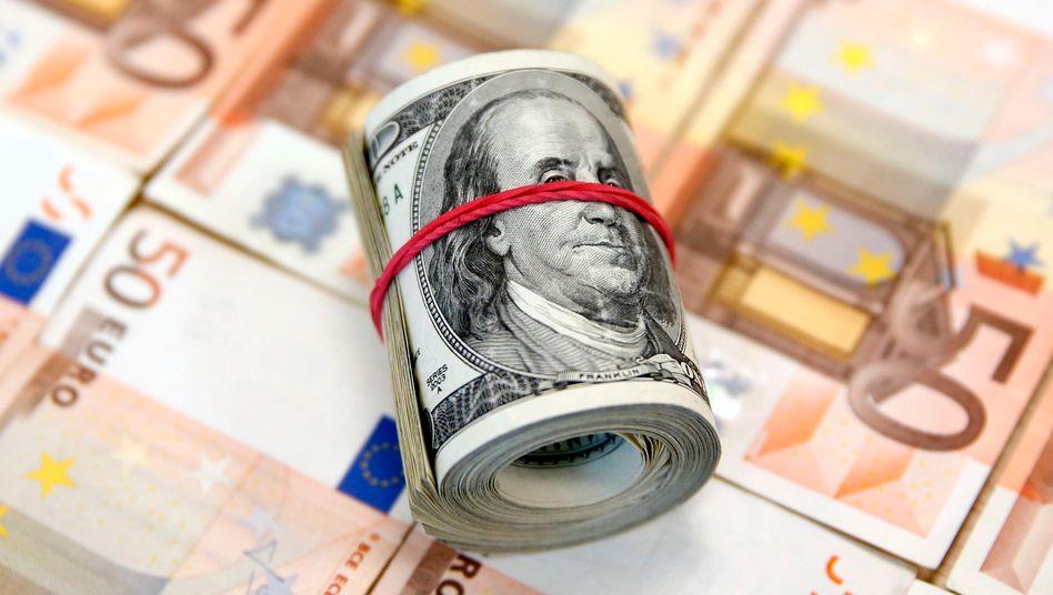 Euro-Dollar: Trump hat mal wieder Großes vor. Der Dollar legt gegenüber dem Euro schon mal zu