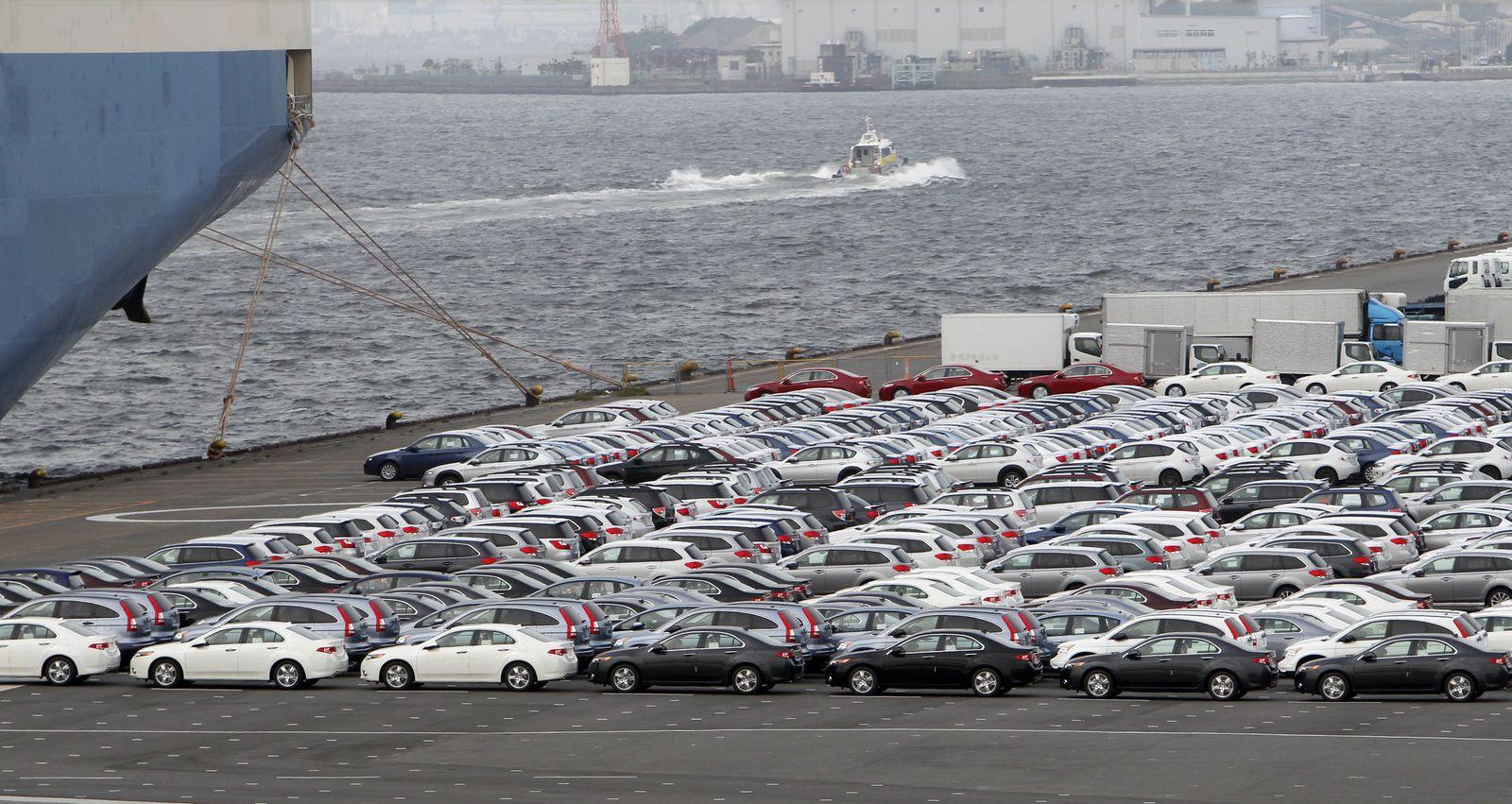 Japan Wirtschaft Exporte Autos