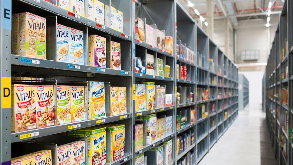 Amazon-Warendepot in Berlin