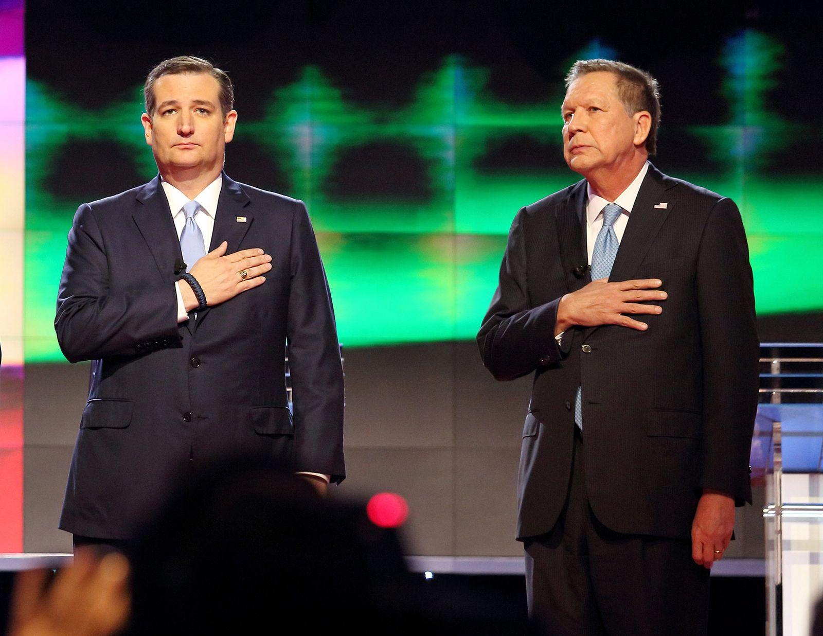 John Kasich / Ted Cruz