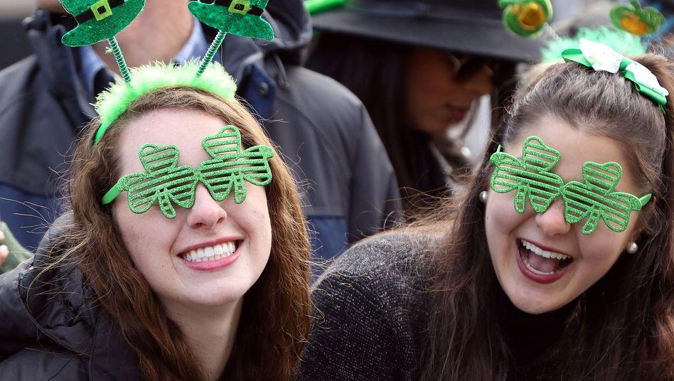 Zu schön, um wahr zu sein: Kleeblätter als Glückssymbol zum Nationalfeiertag St. Patrick's Day