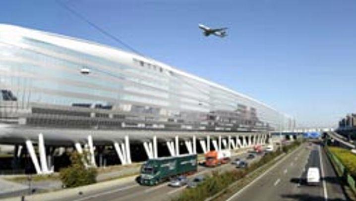 Frankfurter Flughafen: Airrail-Center
