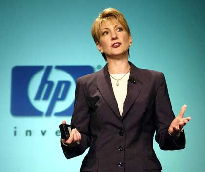 "Platz 19: Carly Fiorina (48), Hewlett-Packard - ""Eine globale Staatsfrau"""