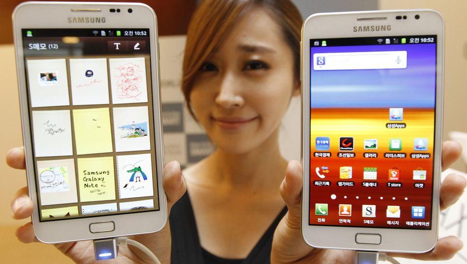 Samsung: Das Verkaufsverbot ist die zweite Niederlage für den südkoreanischen Elektronikkonzern vor einem US-Gericht innerhalb einer Woche