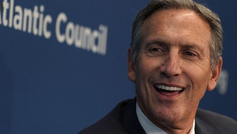Howard Schultz: Der frühere Starbucks-Chef will als unabhängiger US-Präsidentschaftskandidat antreten