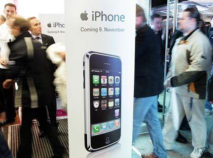 """Verkaufsstart des iPhones: """"Wir schlagen uns drum"""""""
