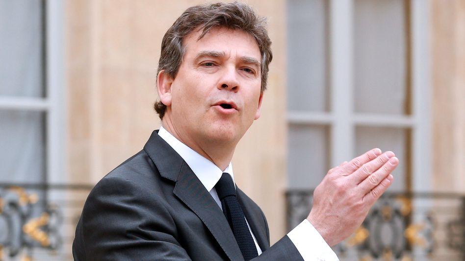 Frankreichs Wirtschaftsminister Montebourg: Dank an Kaeser