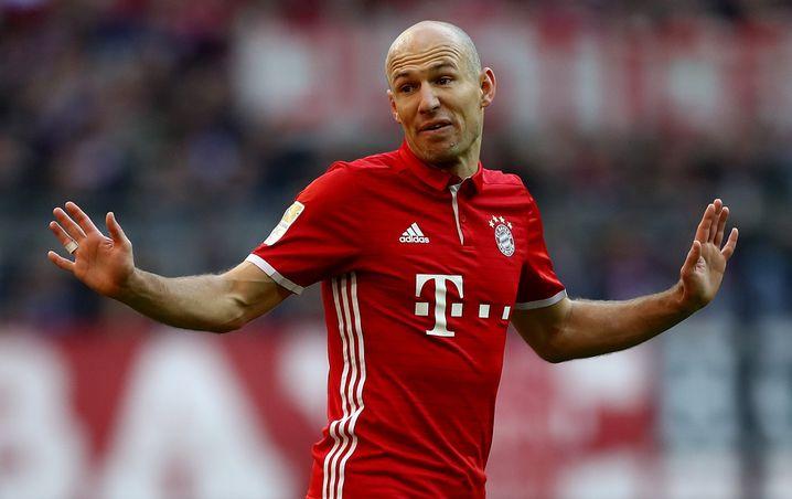 Stehaufmännchen: Fußballer Arjen Robben