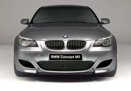 Für besonders eilige Fälle: Der neue BMW M5 wird mit einem 507 PS starken Zehnzylindermotor ausgeliefert