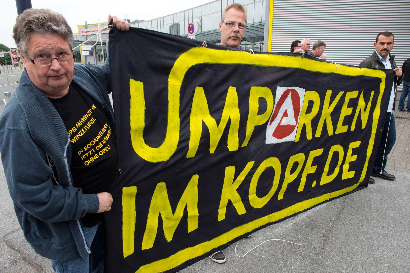 Betriebsversammlung Opel