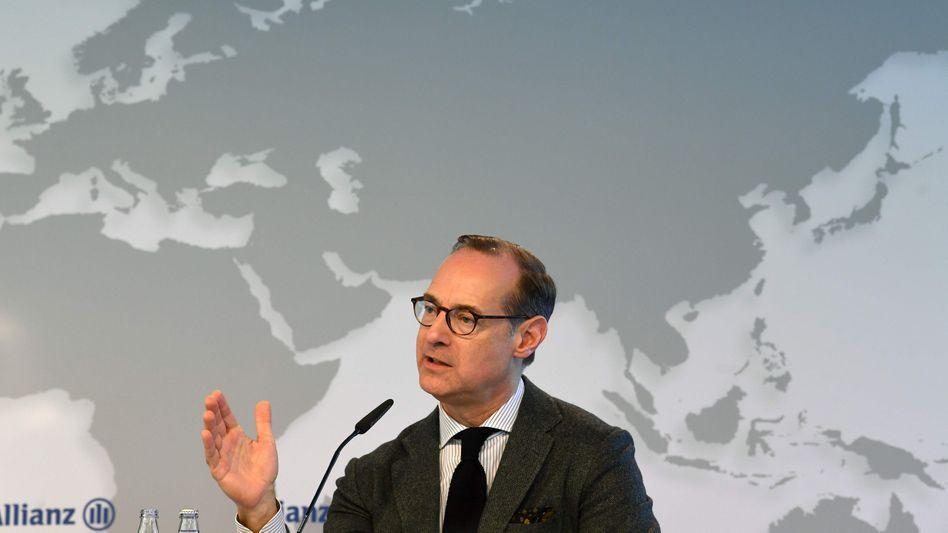 """""""Eine noch stärkereAllianzaufbauen"""": Konzernchef Oliver Bäte"""