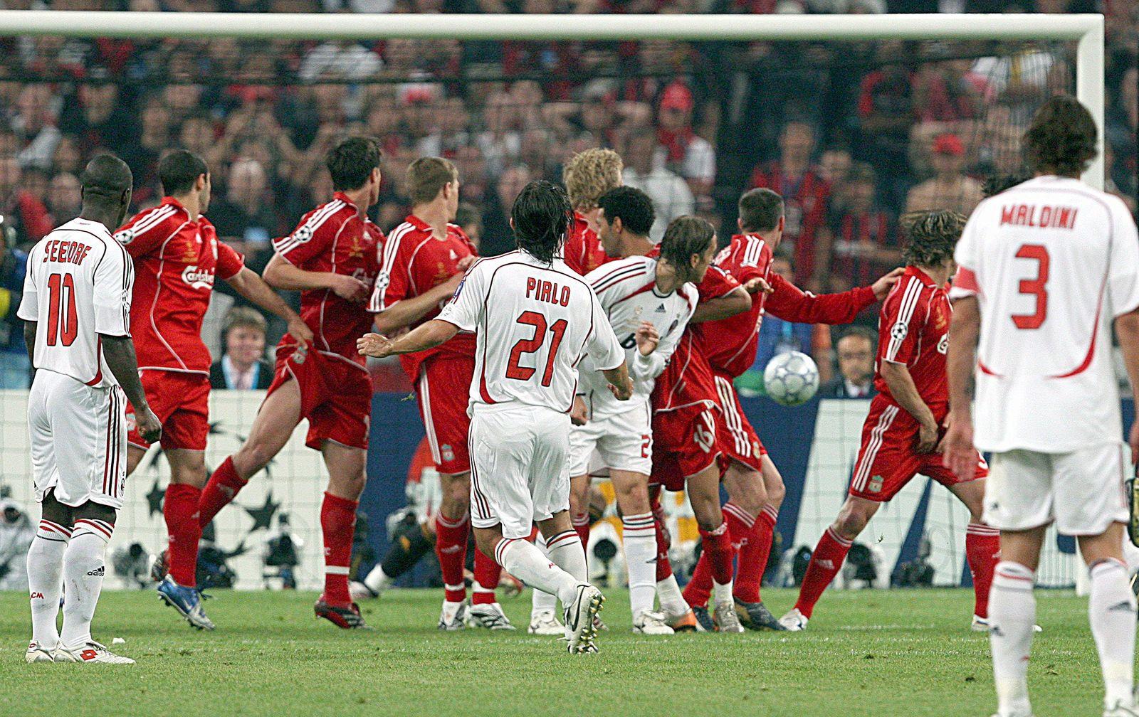Champions League Finale - AC Mailand - FC Liverpool