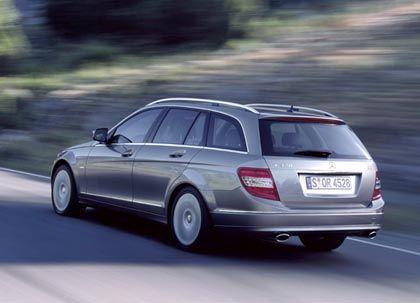 Groß aber dennoch elegant: Das Mercedes C-Klasse T-Modell