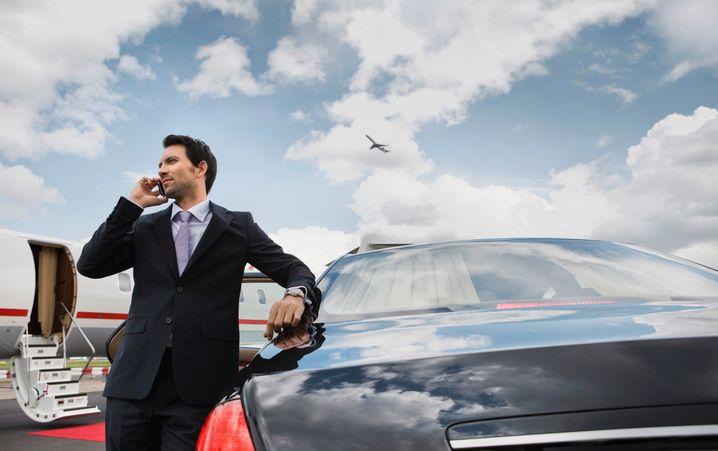 Der Jet? Das Auto? Die wichtigen Kontakte? Warum wollen Sie den Erfolg?
