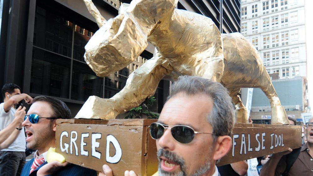 Wall-Street-Besetzer: Amerika spaltet sich in der Unterstützer-Frage