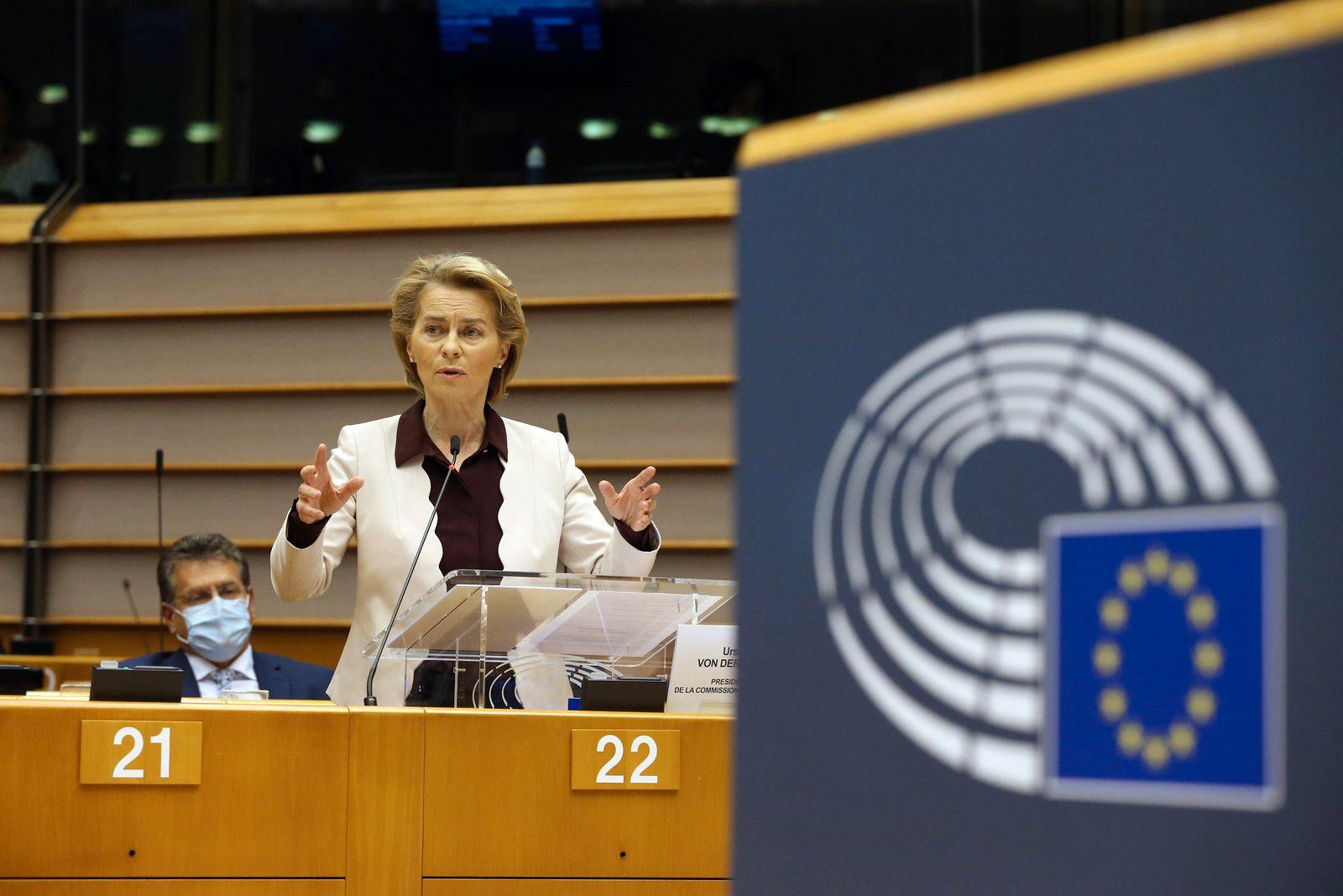 Nach EU-Sondergipfel - Kommissionspräsidentin Von der Leyen