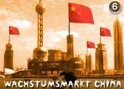 Gegenwind: Chinesische Multis drängen auf die Weltmärkte