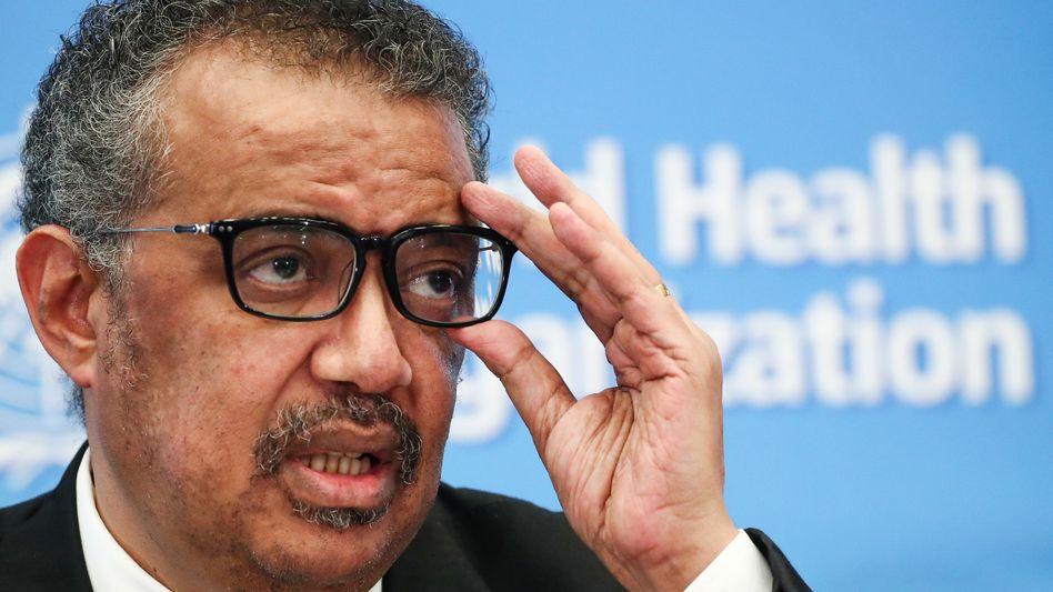 Kritiker der Pharmaindustrie: WHO-Chef Tedros Adhanom Ghebreyesus