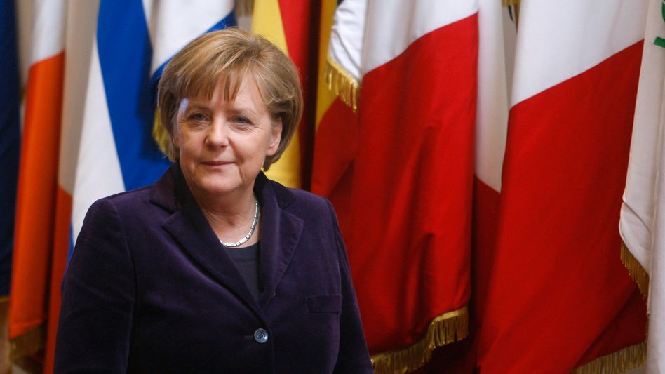 Kanzlerin Angela Merkel: Deutschlands Regierungschefin kann Europa aktuell helfen