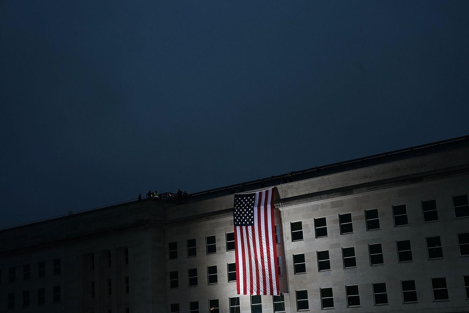 Pentagon Holds September 11th Memorial Observance Ceremony