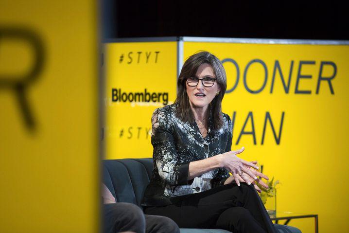 Machte sich nach mehr als 30 Jahren an der Wall Street selbstständig: Ark-Investment-Chefin Cathie Wood