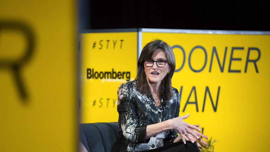 """""""Burry versteht die Grundlagen nicht"""": Starinvestorin Cathie Wood nimmt die Short-Attacke von Michael Burry auf ihren Fonds nach außen hin gelassen"""