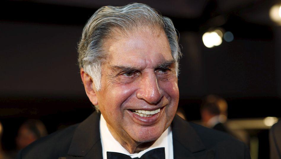 Ratan Tata: Der indische Unternehmer hat sich im Famiien-Konglomerat zurück an die Macht geputscht
