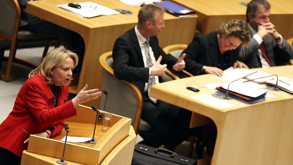 Hannelore Kraft: Der NWR-Ministerpräsidentin stehen eventuell Neuwahlen ins Haus