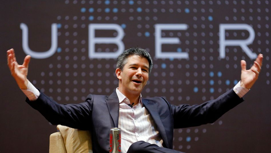 Uber-Chef Travis Kalanick ist umstritten. Sein Vize, Emil Michael, soll für die von Mitarbeitern als aggressiv und sexistisch empfundene Unternehmenskultur mit verantwortlich sein. Michael stellt sich nun als Bauernofper dar, der seinen Platz für den Chef räumen musste