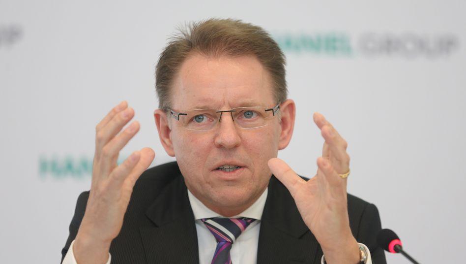 Doch noch gepackt: Haniel-Chef Stephan Gemkow wird seine ungeliebte Tochter Celesio los