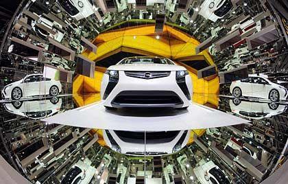 Hoffnungsschimmer: Der Opel Ampera soll den Massenmarkt elektrisieren