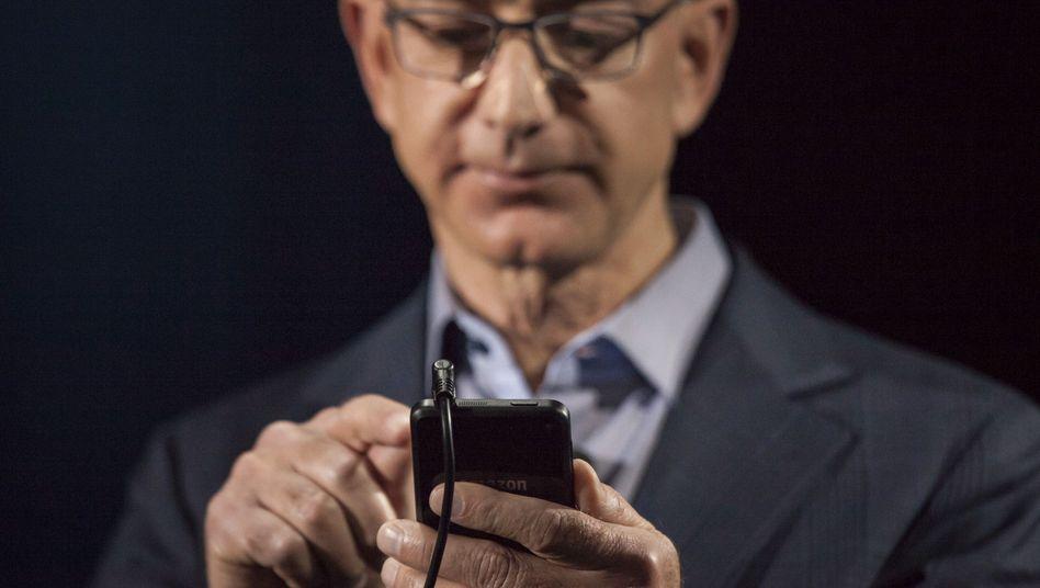 Noch in diesem Jahr könnte Amazon-Chef Jeff Bezos die neue Smart-Glass vorstellen
